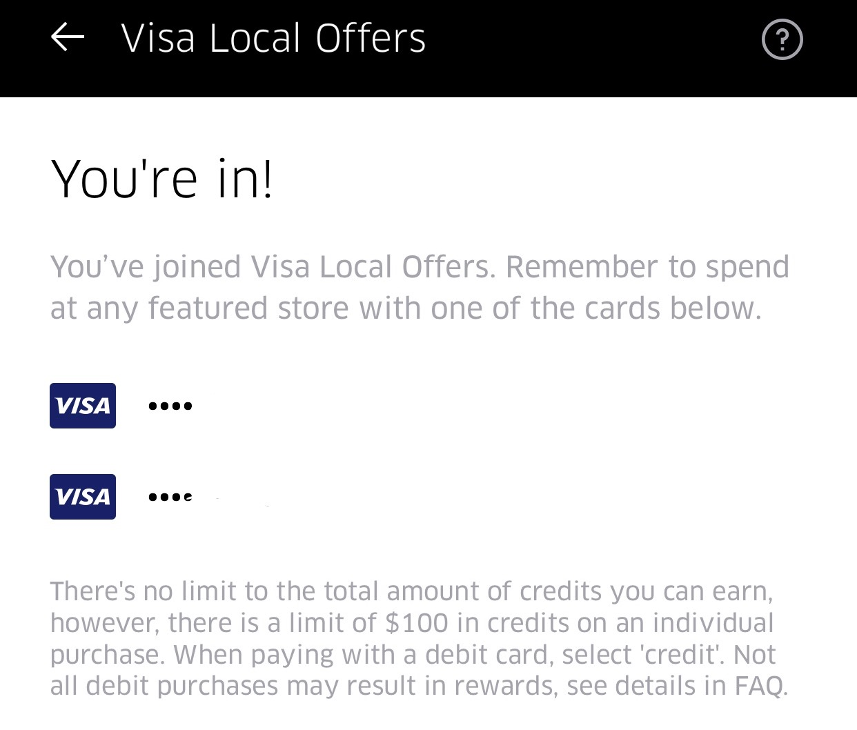 Visa Local Offers >> Uber S Local Offers Spending Portal Is Finally Back