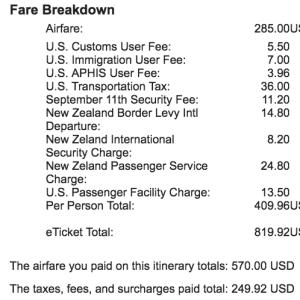 NZ fare breakout